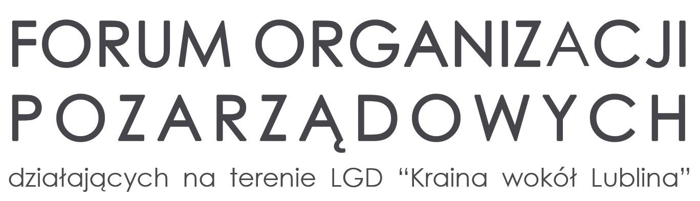 Forum organizacji pozarządowych z terenu LGD Kraina wokół Lublina